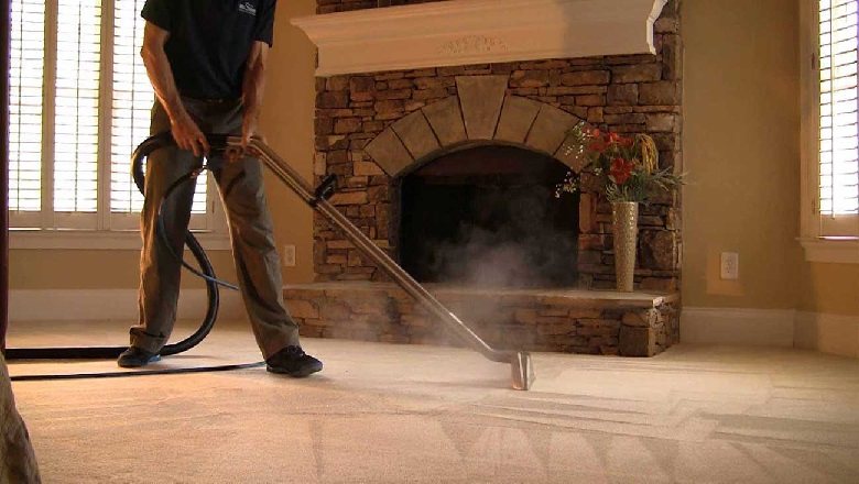 Woodlands-Texas-carpet-cleaning-steaming